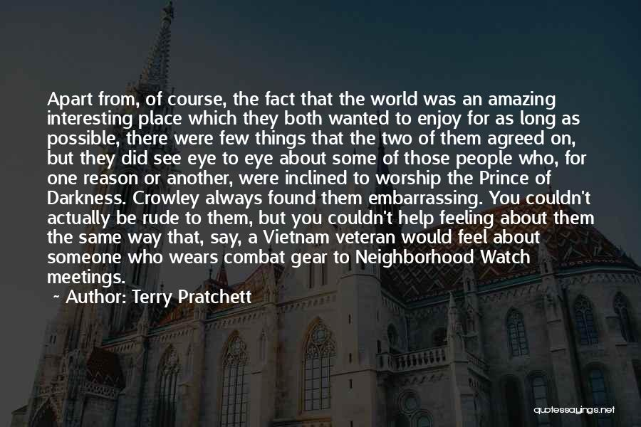 You Were Rude Quotes By Terry Pratchett