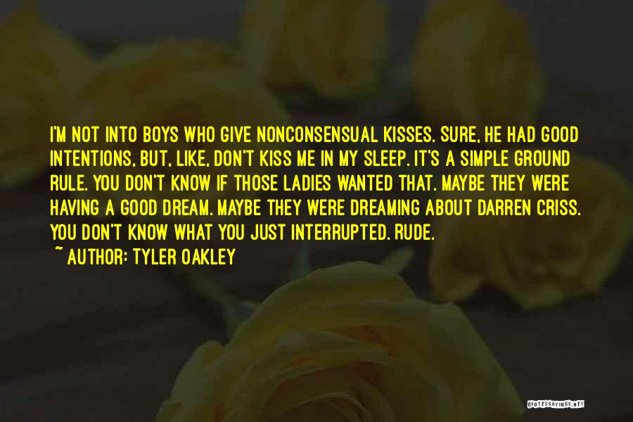 You Were Rude Quotes By Tyler Oakley