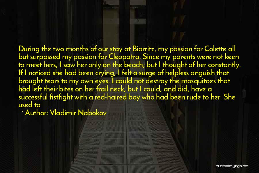 You Were Rude Quotes By Vladimir Nabokov