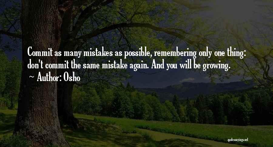 You Will Be The Only One Quotes By Osho
