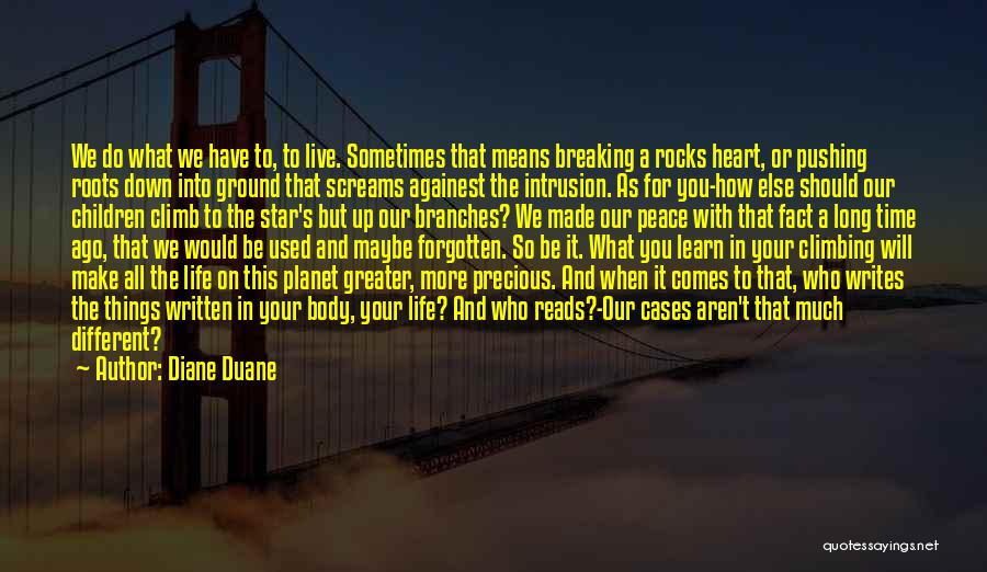 You Will Learn In Time Quotes By Diane Duane