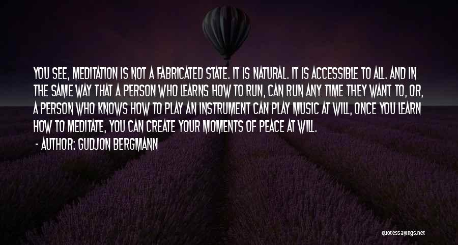 You Will Learn In Time Quotes By Gudjon Bergmann