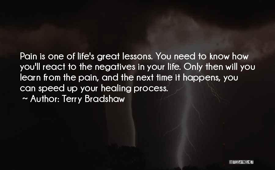 You Will Learn In Time Quotes By Terry Bradshaw