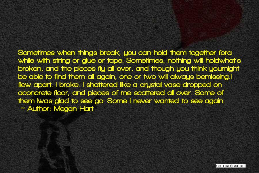 You Will Never See Me Again Quotes By Megan Hart
