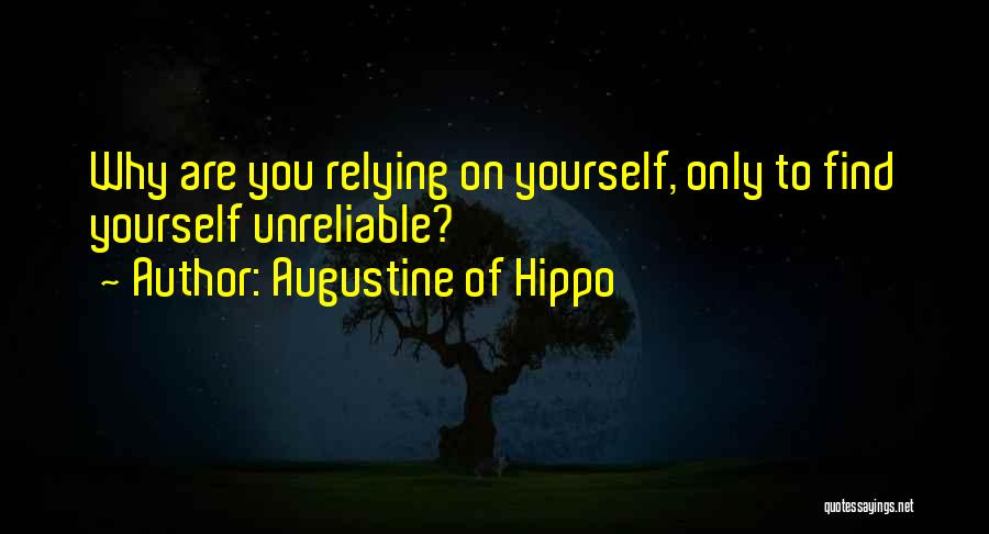 You You Quotes By Augustine Of Hippo