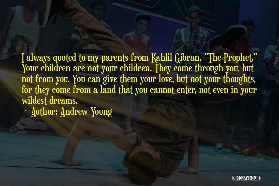 Young But In Love Quotes By Andrew Young