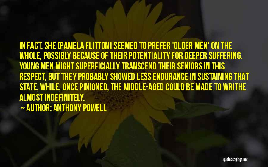 Young But In Love Quotes By Anthony Powell
