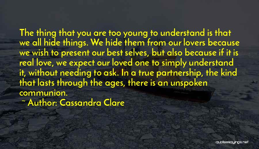 Young But In Love Quotes By Cassandra Clare