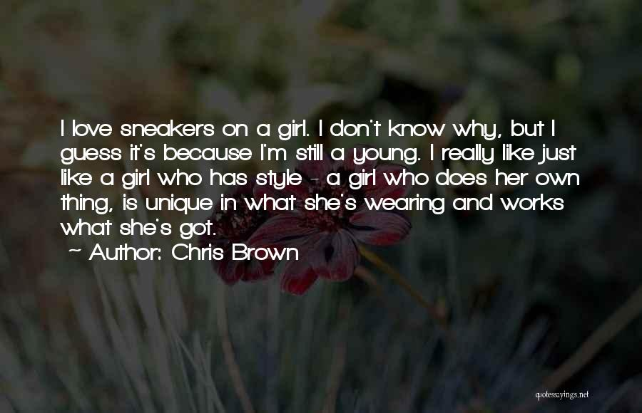 Young But In Love Quotes By Chris Brown