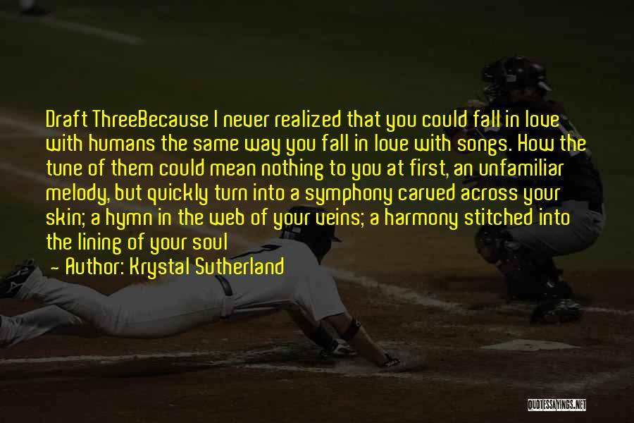 Young But In Love Quotes By Krystal Sutherland