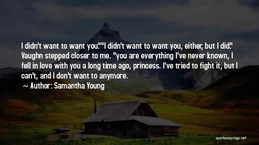 Young But In Love Quotes By Samantha Young