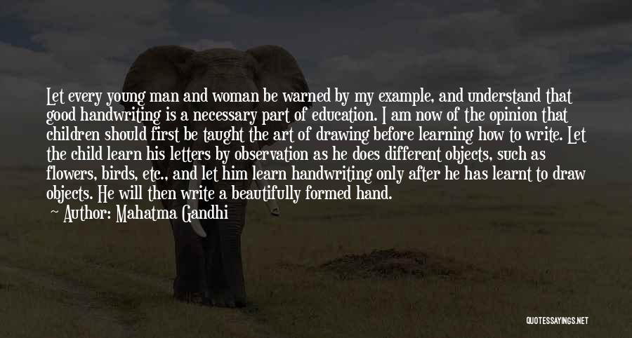 Young Children's Learning Quotes By Mahatma Gandhi