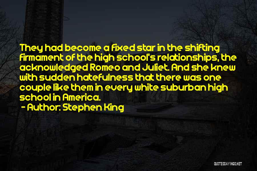 Young Love In Romeo And Juliet Quotes By Stephen King