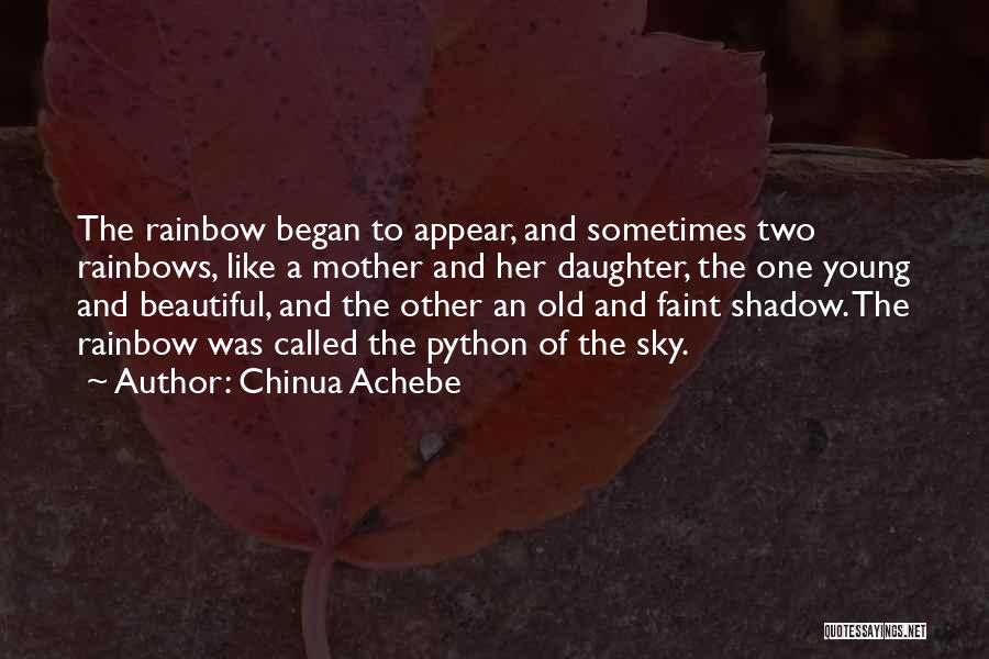Young Mother Of Two Quotes By Chinua Achebe