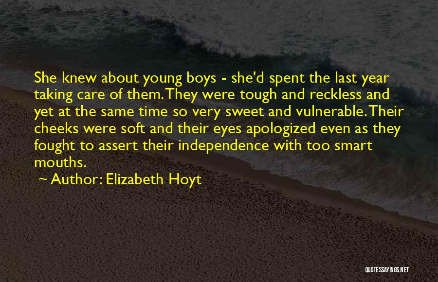 Young Reckless Quotes By Elizabeth Hoyt