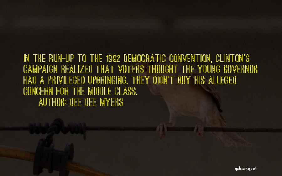 Young Voters Quotes By Dee Dee Myers