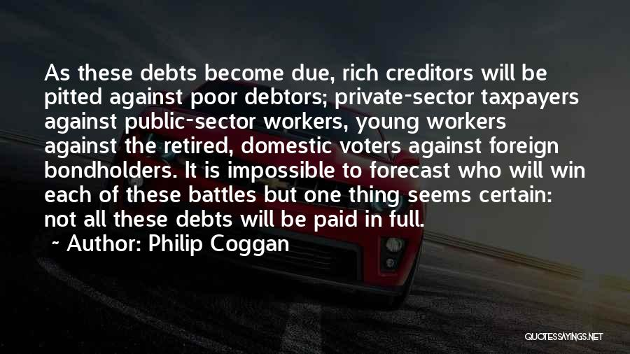 Young Voters Quotes By Philip Coggan