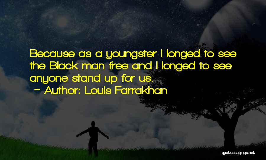 Youngster Quotes By Louis Farrakhan