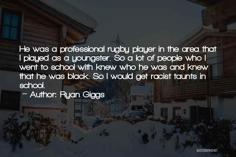Youngster Quotes By Ryan Giggs