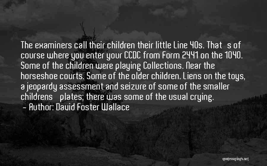 Your 40s Quotes By David Foster Wallace