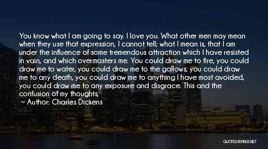 Your A Disgrace Quotes By Charles Dickens