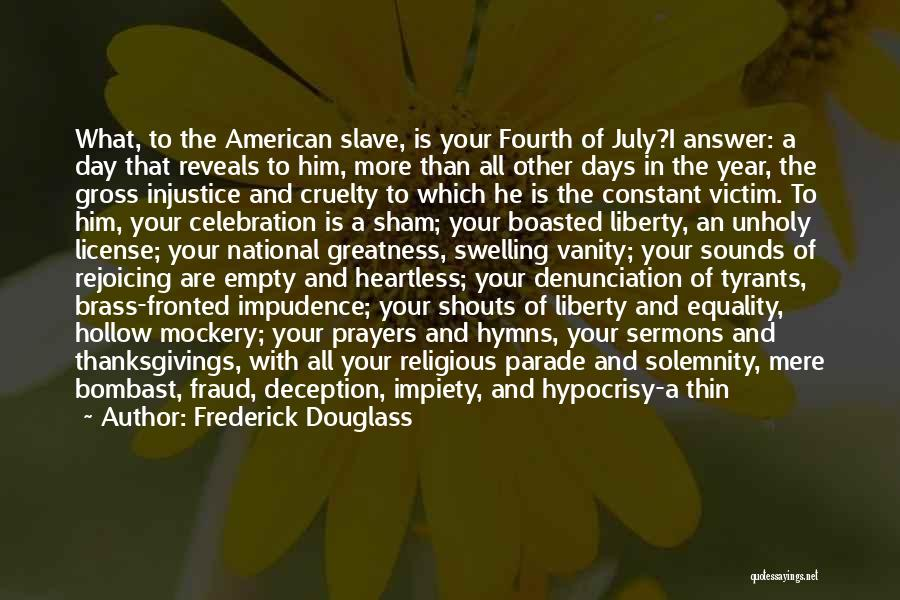 Your A Disgrace Quotes By Frederick Douglass