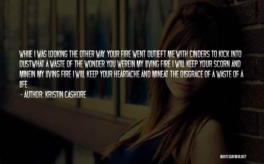 Your A Disgrace Quotes By Kristin Cashore