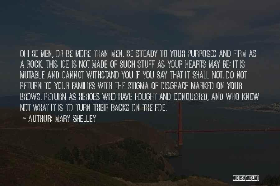 Your A Disgrace Quotes By Mary Shelley