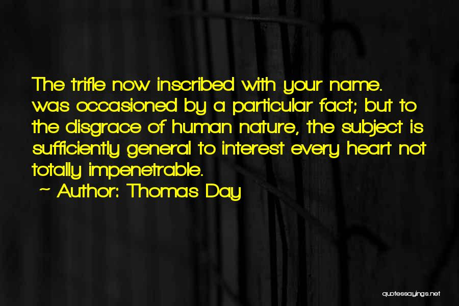 Your A Disgrace Quotes By Thomas Day