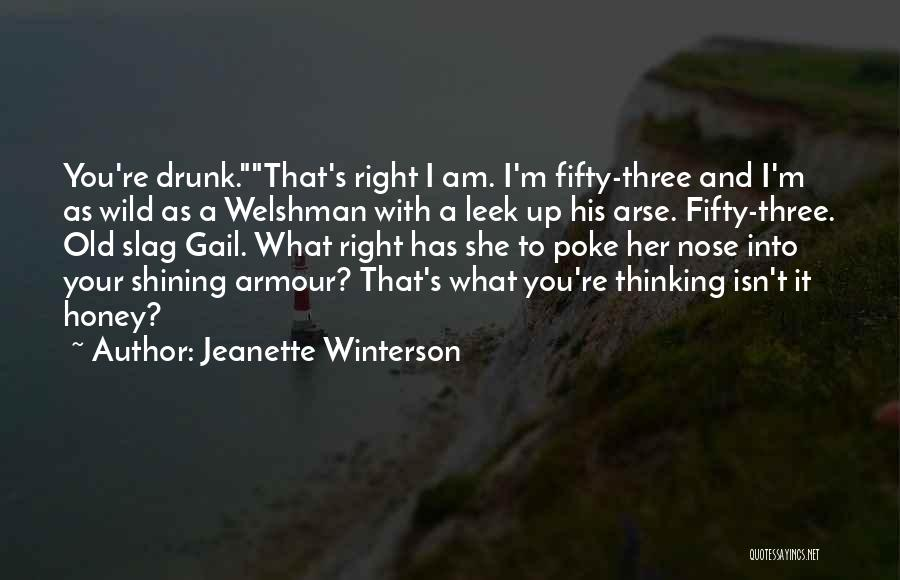 Your A Slag Quotes By Jeanette Winterson