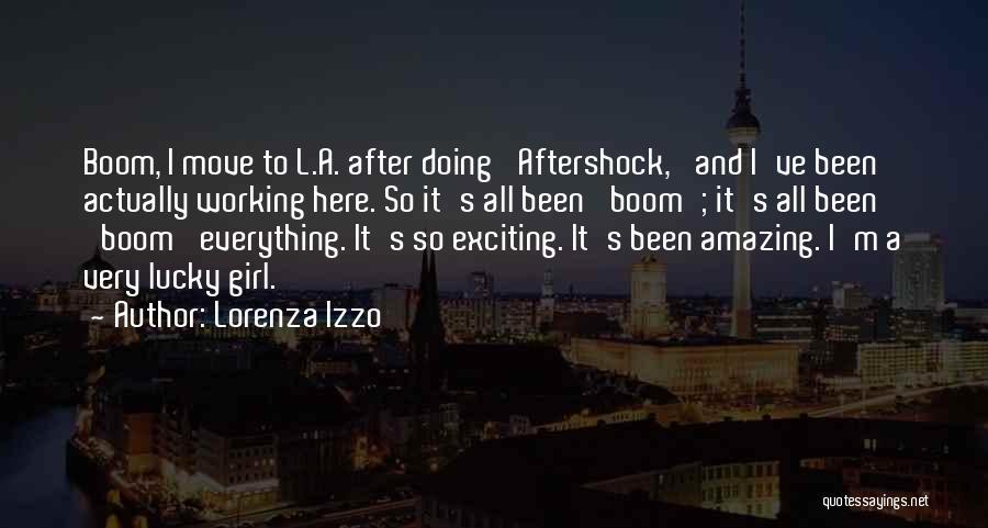 Your Amazing Girl Quotes By Lorenza Izzo