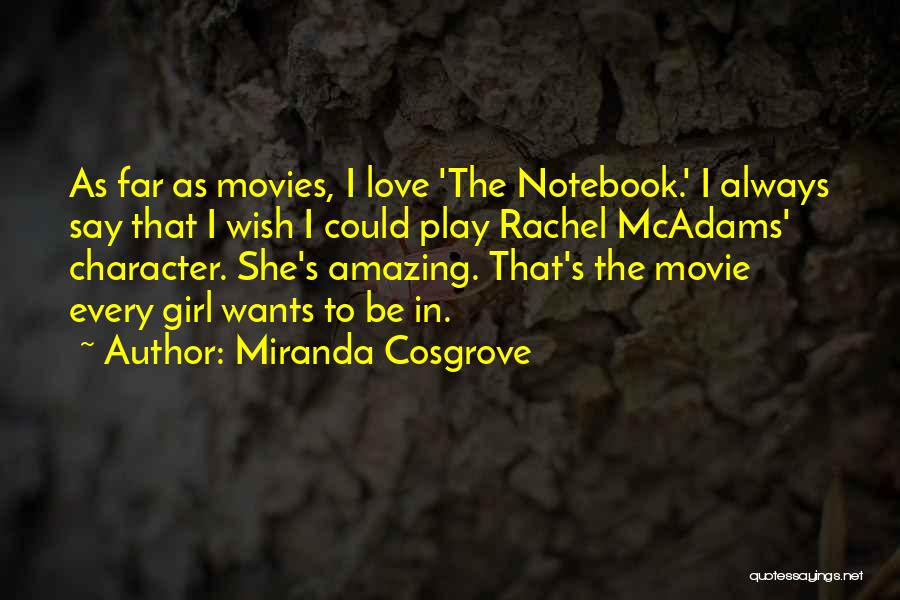 Your Amazing Girl Quotes By Miranda Cosgrove