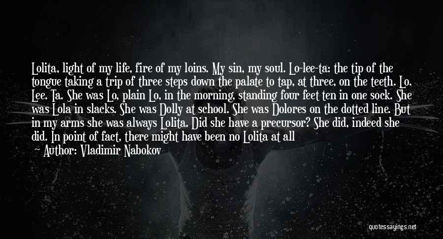 Your Amazing Girl Quotes By Vladimir Nabokov