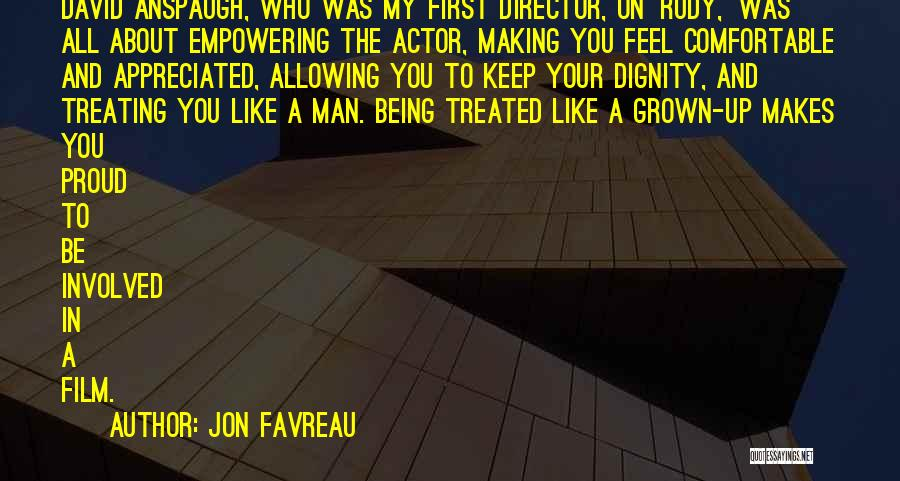 Your Appreciated Quotes By Jon Favreau