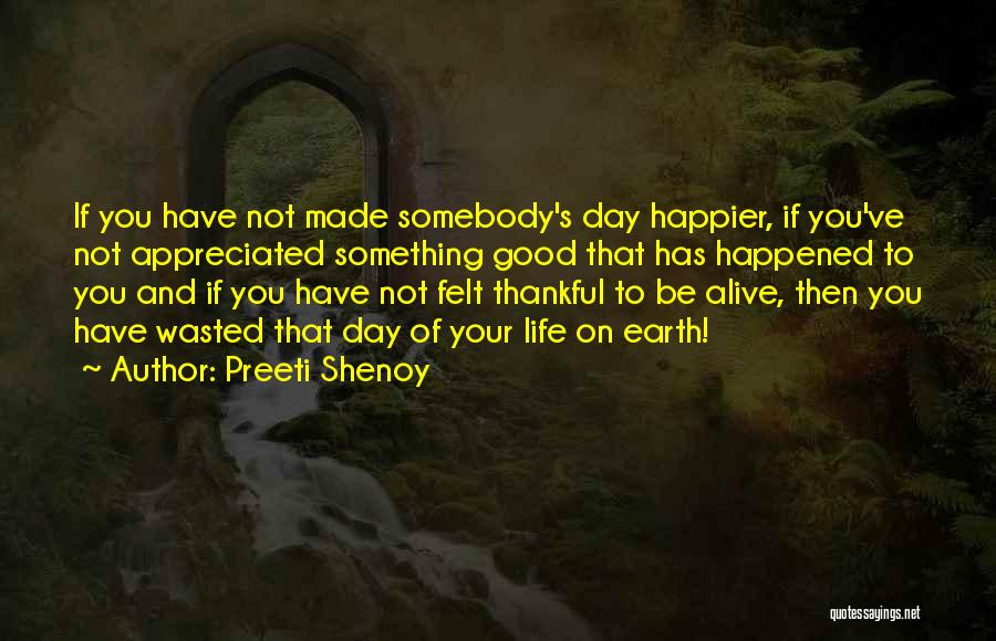 Your Appreciated Quotes By Preeti Shenoy