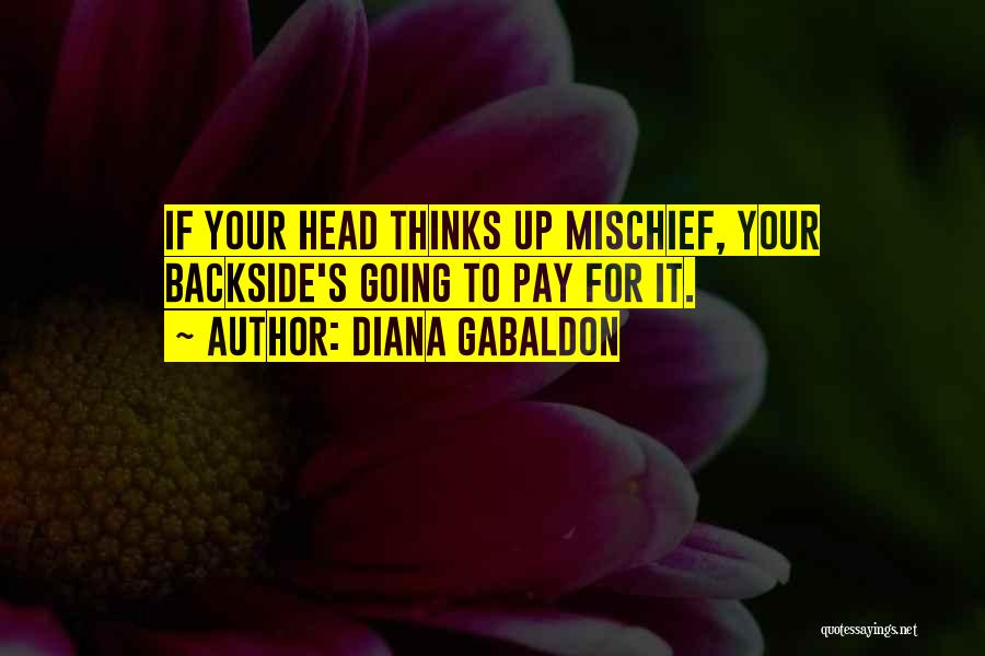 Your Backside Quotes By Diana Gabaldon