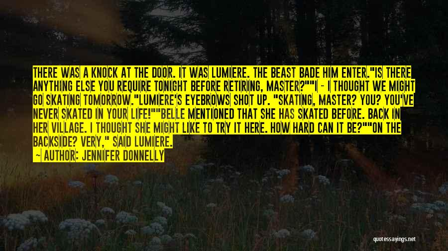 Your Backside Quotes By Jennifer Donnelly