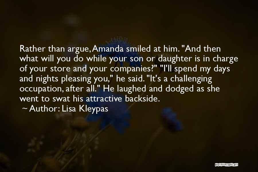 Your Backside Quotes By Lisa Kleypas