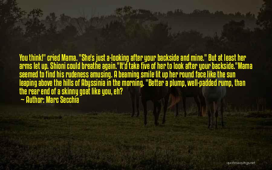 Your Backside Quotes By Marc Secchia
