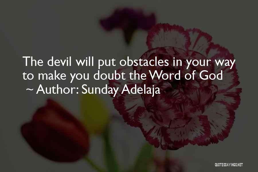 Your Backside Quotes By Sunday Adelaja