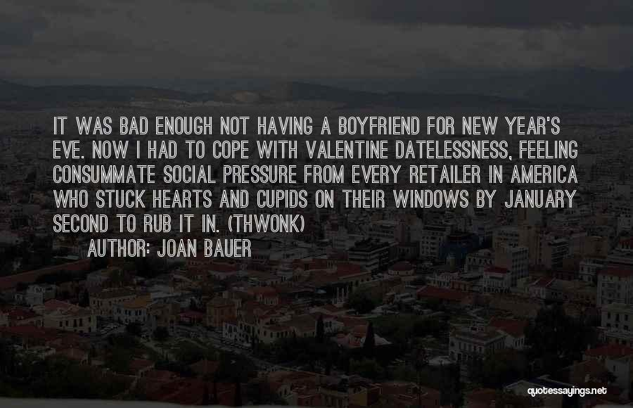 Your Boyfriend On Valentine's Day Quotes By Joan Bauer
