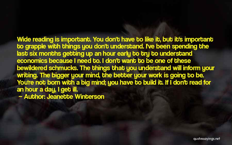 Your Day Getting Better Quotes By Jeanette Winterson