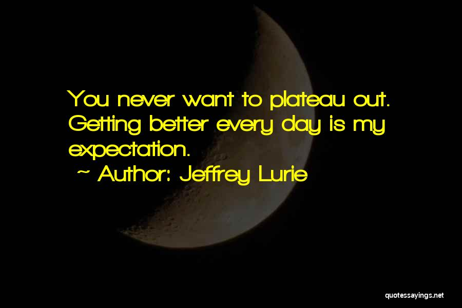 Your Day Getting Better Quotes By Jeffrey Lurie