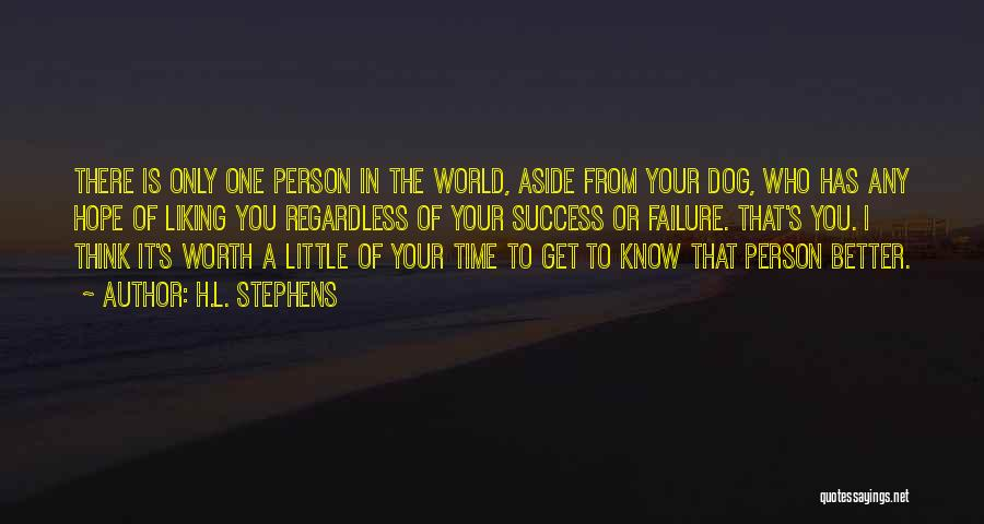 Your Dog Quotes By H.L. Stephens
