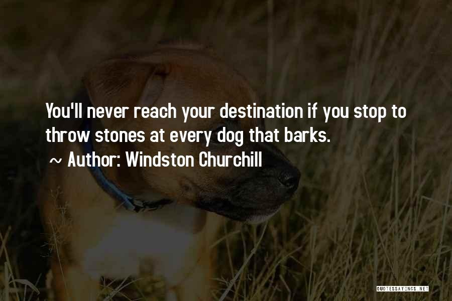 Your Dog Quotes By Windston Churchill