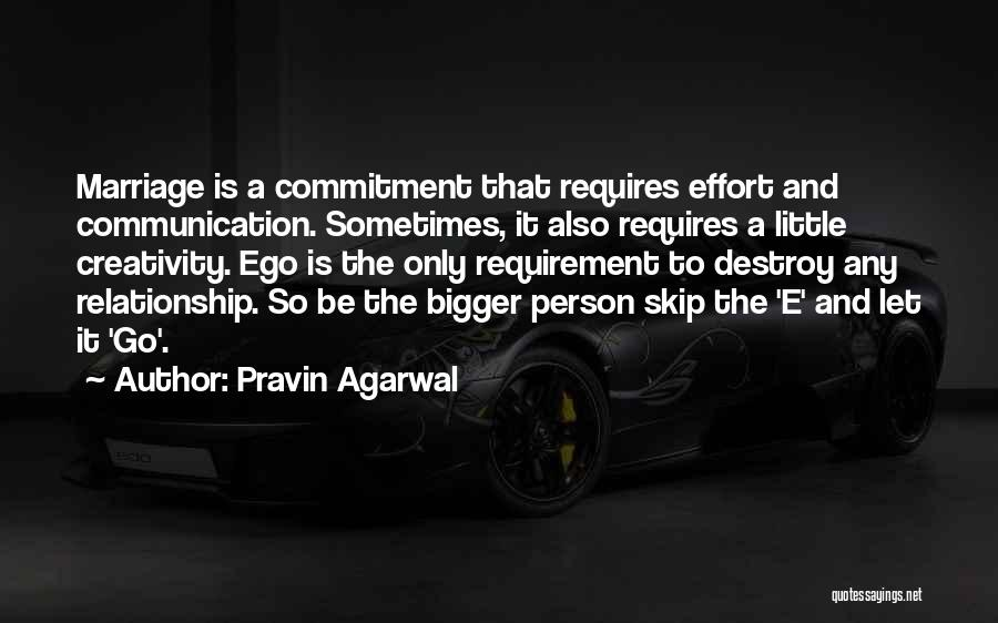 Your Ego Will Destroy You Quotes By Pravin Agarwal