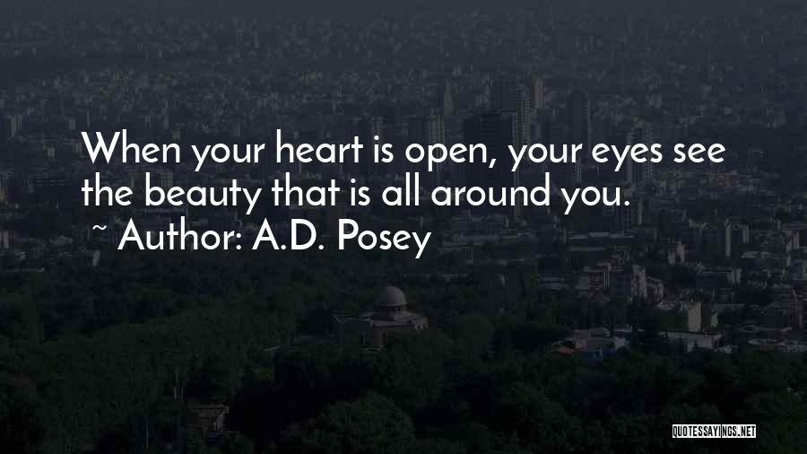 Your Eyes Beauty Quotes By A.D. Posey