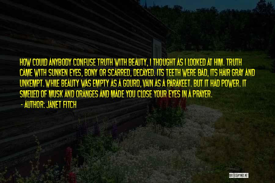 Your Eyes Beauty Quotes By Janet Fitch