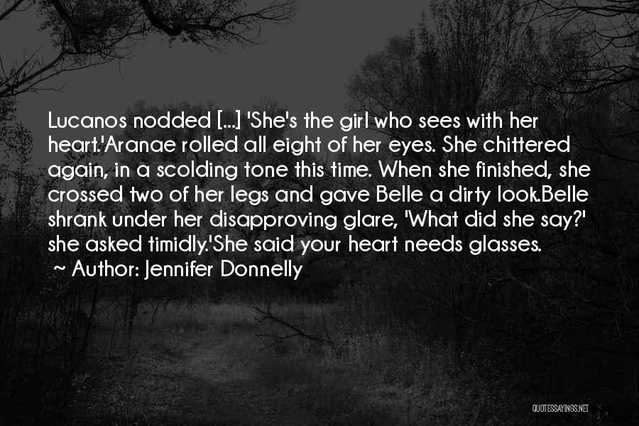 Your Eyes Beauty Quotes By Jennifer Donnelly