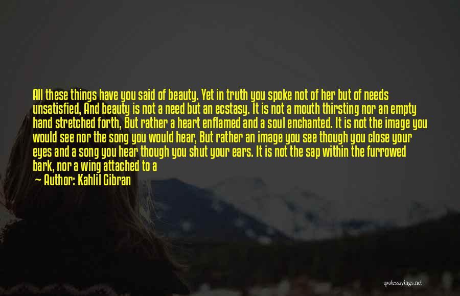 Your Eyes Beauty Quotes By Kahlil Gibran
